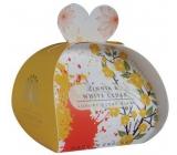 English Soap Cínie & Biely céder prírodné parfumované mydlo s bambuckým maslom 3 x 20 g