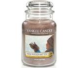 Yankee Candle Warm Woolen Mittens - Teplé vlněné rukavice vonná svíčka Classic velká sklo 623 g