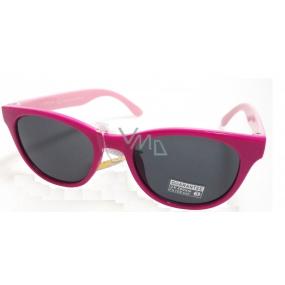 Dudes & Dudettes Sluneční brýle pro děti růžové 45-20-124