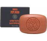 Erbario Toscano Čierne korenie toaletné mydlo 140 g