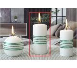 Lima Exclusive sviečka zelená valec 60 x 120 mm 1 kus