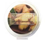 Heart & Home Zázvor a Citrónová tráva Sójový prírodný voňavý vosk 26 g