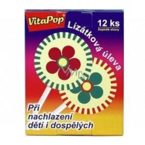 VitaHarmony VitaPop lízátkový úľava pri prechladnutí detí i dospelých 12 kusov