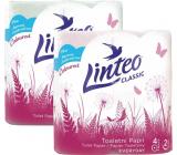 Linteo Classic toaletný papier ružový 2 vrstvový, 150 útržkov, 15 m, 4 kusy