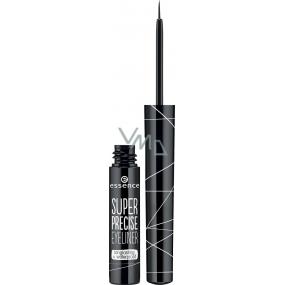 Essence Super Precise Eyeliner oční linky Black 3 ml