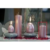 Lima Pastel svíčka metal světle růžová válec 50 x 100 mm 1 kus