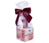 Kappus Růže sprchový gel 250 ml + tělové mléko 200 ml + tuhé mýdlo 125 g, kosmetická sada