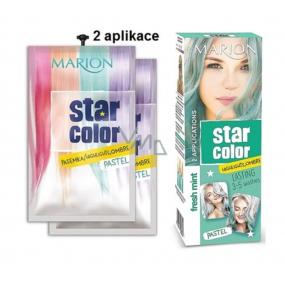 Marion Star Color zmývateľná farba na vlasy Fresh Min 2 x 35 ml