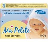 Kappus Avokádový olej prírodné toaletné mydlo pre deti 100 g