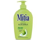 Mitia Soft Care Aloe & Milk tekuté mýdlo dávkovač 500 ml