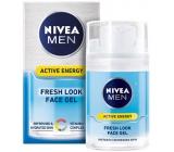 Nivea Men Skin Energy Q10 energizující pleťový gel pro muže 50 ml