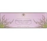 English Soap Anglická Levanduľa prírodné parfumované mydlo s bambuckým maslom 3 x 100 g