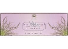 English Soap Anglická Levandule Přírodní parfémované mýdlo s bambuckým máslem 3x100g