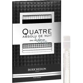 Boucheron Quatre Absolu de Nuit pour Homme parfémovaná voda pro muže 2 ml s rozprašovačem, Vialka