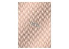 Ditipo Balicí papír Trendy colours 100 x 70, 2 kusy, bronzově bílý tmavší