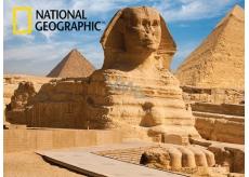 Prime3D Plakát Starověký Egypt - Sfinga 39,5 x 29,5 cm