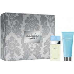 Dolce & Gabbana Light Blue toaletná voda pre ženy 25 ml + telový krém 50 ml, darčeková sada