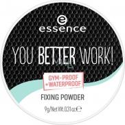 Essence You Better Work! fixační pudr 9 g