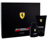 Ferrari Scuderia Black toaletná voda pre mužov 75 ml + 2v1 sprchový gél 150 ml, darčeková sada