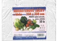 IMPRO Sáčok mikroténové v bloku 250 x 350 x 0,010 mm 50 kusov