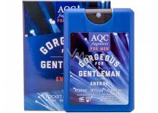 AQC Fragrances Gorgeous for Gentleman Energy toaletná voda pre ženy 20 ml