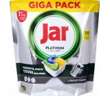 Jar Platinum All in One Lemon kapsule do umývačky riadu 70 kusov