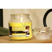 Lima Aroma Dreams Vanilka aromatická svíčka sklenička s víčkem 120 g