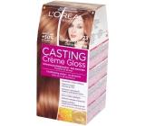 Loreal Paris Casting Creme Gloss barva na vlasy 723 Mléčný karamel