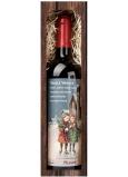 Bohemia Gifts Merlot Veselé Vianoce 750 ml, darčekové vianočné červené víno