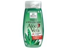 Bione Cosmetics Bio Aloe Vera & Panthenol vlasový šampon 255 ml