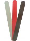 Pilník na nechty šmirgľový farebný 18 cm 3 kusy 677