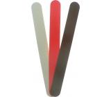 Pilník na nehty smirkový barevný 677 18 cm 3 kusy