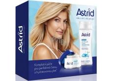 Astrid Moisture Time Ochranný hydratační denní a noční krém 50 ml + Fresh Skin Osvěžující čisticí micelární voda 200 ml, kosmetická sada