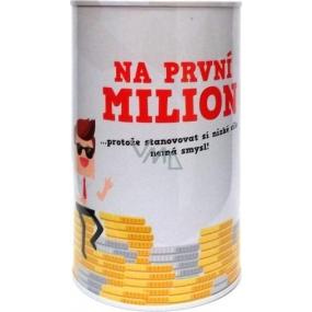 Albi Humorná pokladnička Na prvý milión 13 x 8 cm