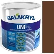 Balakryl Uni Mat 0245 Tmavo hnedý univerzálna farba na kov a drevo 700 g