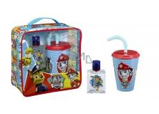 Paw Patrol Tlapková patrola toaletní voda pro děti 50 ml + kelímek na pití sbrčkem, dárková sada