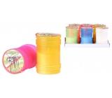 SVIEČKA Citronella plast 60x95mm farebný mix 3903