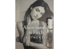 Abercrombie & Fitch Authentic Woman toaletná voda 2 ml s rozprašovačom, vialky