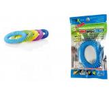 Trixline Mosquito Repelentný náramok - gumička proti komárom Citronela 1 kus, TR 249 náhodný výber farby
