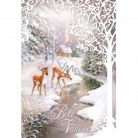 Ditipo Hracie želanie Biele Vianoce dve srnečka Karel Svoboda Tri oriešky 224 x 157 mm