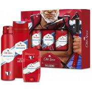 Old Spice White Water Alpinist antiperspirant dezodorant stick 50 ml + dezodorant sprej 150 ml + 2v1 sprchový gél na telo a vlasy 250 ml, kozmetická sada pre mužov