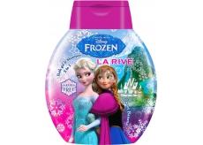 Disney Frozen Sweet Banana 2v1 šampón a kúpeľové mlieko pre deti 250 ml