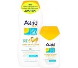 Astrid Sun Kids mlieko na opal.OF50 200ml + mlieko OF15 1447