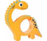 Albi Pokladnička drevená zvieratko Dinosaur 22 x 5 x max 22 cm