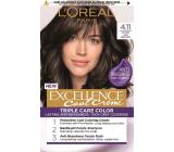 Loreal Paris Excellence Cool Creme farba na vlasy 4.11 Ultra popolavá hnedá