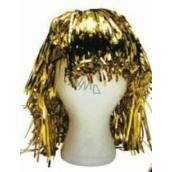 Parochňa lametová alu krátka zlatá