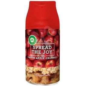 Air Wick Spread The Joy Warm Apple Crumble - Čerstvě upečený jablečný koláč náhradní náplň 250 ml