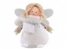 Anjel biele šaty 9 cm