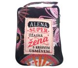Albi Skladacia taška na zips do kabelky s menom Alena 42 x 41 x 11 cm