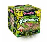 Albi V kocke! Dinosaury 2. vydanie desaťminútová hra na precvičenie pamäti a vedomostí odporúčaný vek 6+